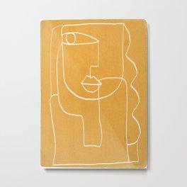 Abstract line art 41 Metal Print