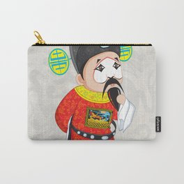 Beijing Opera Character TangQIN Carry-All Pouch