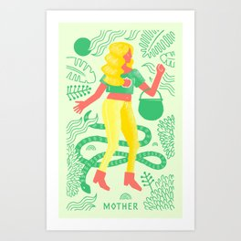 Triple Goddess: The Mother Art Print