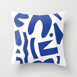 Like Matisse, But Not Throw Pillow