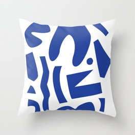 Like Matisse, But Not Throw Pillow