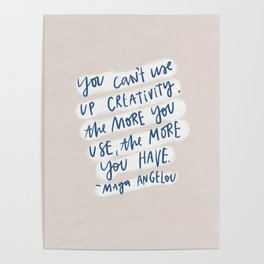 creativity quote Poster