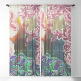 Ode To Creation Sheer Curtain
