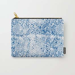 Snake Skin Princess Blue Carry-All Pouch