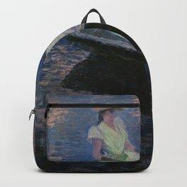 Claude Monet - On the Boat.jpg Backpack