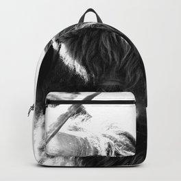 Black and White Horns Backpack