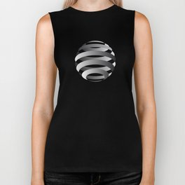 Sphere From Streaks Biker Tank