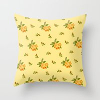 hawaiian Throw Pillows featuring Hawaiian by Beautiful Revelry