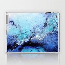 Bermuda Paradise Mixed Media Painting Laptop & iPad Skin