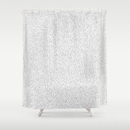 Pride and Prejudce Netherfield Ball Shower Curtain