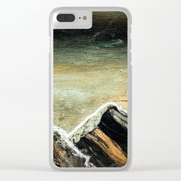 Sehnsucht2 Clear iPhone Case