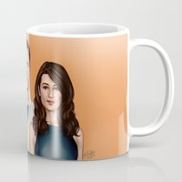 allison argent Mugs featuring Argent Family Photo - San Francisco, 2010 by xKxDx