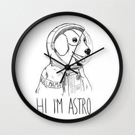 Hi I'm Astro - Killmama Wall Clock