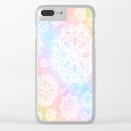 Aurora Frost Clear iPhone Case