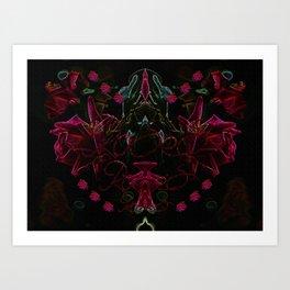 Roses V1 Art Print