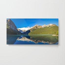 Lake Louise panorama, Canada. Metal Print