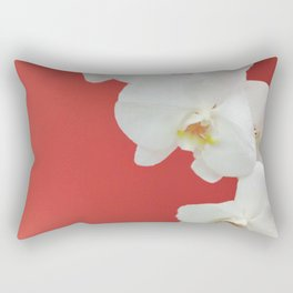 Watermelon Orchid Rectangular Pillow