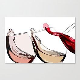 A Glass a Day... Canvas Print