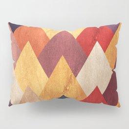 Eccentric Mountains Pillow Sham