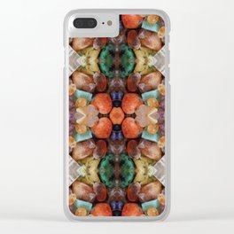 Fiery gems for you Clear iPhone Case