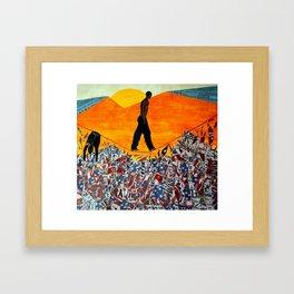 Prey 4 Freedom Framed Art Print