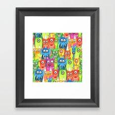 hi hi hi  Framed Art Print