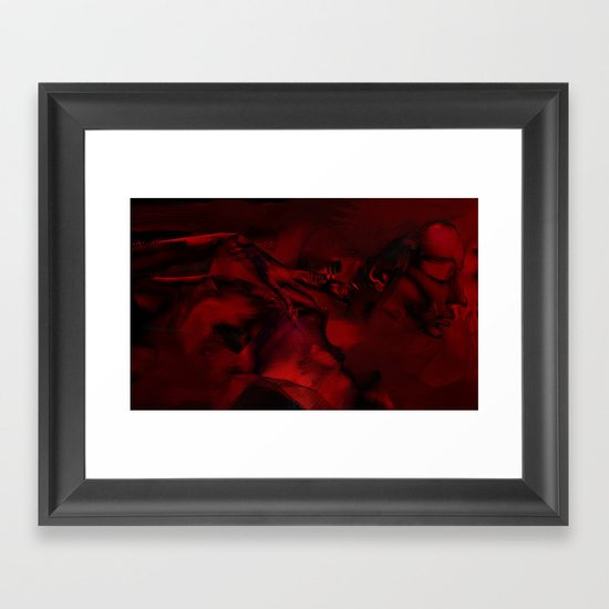 Wrath Framed Art Print