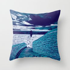A Sanctuary Closed Throw Pillow