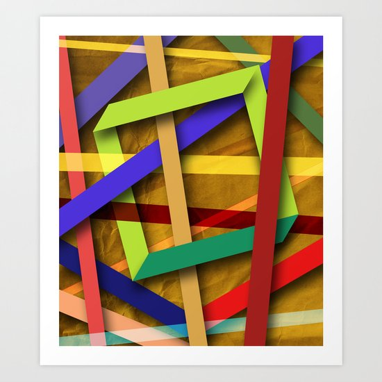 Abstract #356 Art Print
