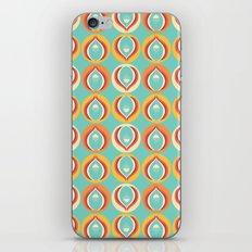 50's floral pattern V iPhone & iPod Skin