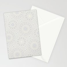 Moroccan tiles Stationery Cards