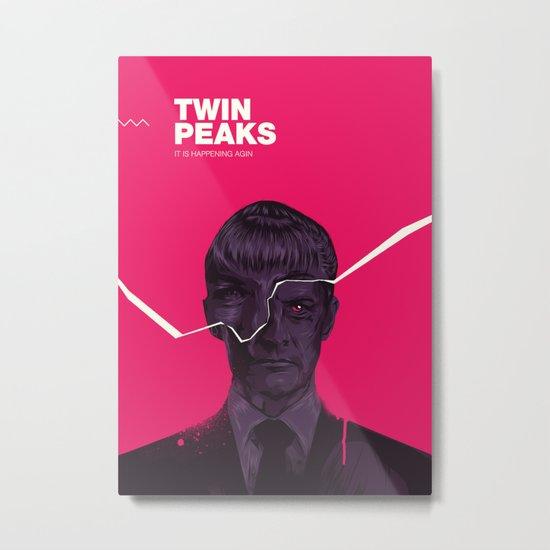 Twin Peaks 2017 Metal Print
