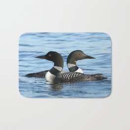 Loon love Bath Mat