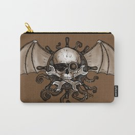 Airships and Tentacles SkullWheel Glyph Carry-All Pouch