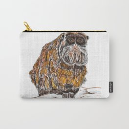 Emperor tamarin Carry-All Pouch