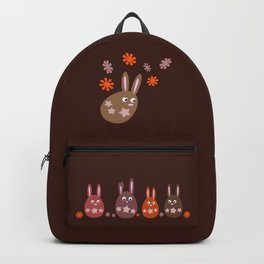 Easter Egg Chocolate Bunnies - Make Room For Me! Backpack