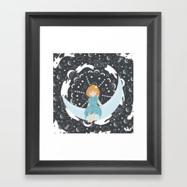 Fancy night Framed Art Print