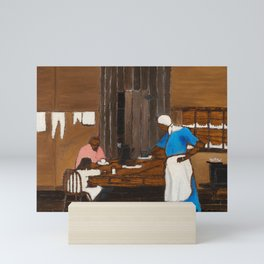 Supper Time by Horace Pippin Mini Art Print