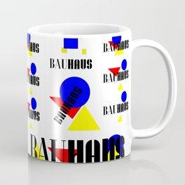 Bauhaus Geometric Shapes Coffee Mug