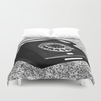 telephone Duvet Covers featuring telephone by Falko Follert Art-FF77