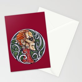 Red Death - coloured variant Stationery Cards