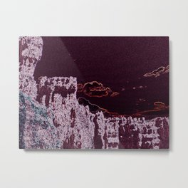Bryce Canyon Abstract Metal Print