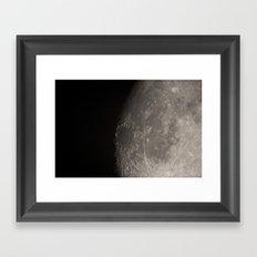 moon 03 Framed Art Print