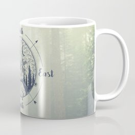 Compass Mountain Road Trip Coffee Mug