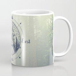 Compass Mountain Road Trip Coffee Mug