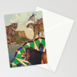 Searching all mountains high and seas blue Stationery Cards