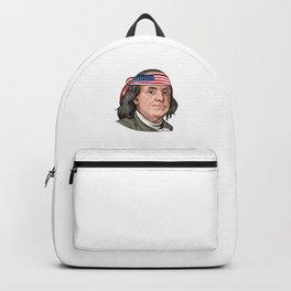 Benjamin Franklin 4th Of July  Backpack