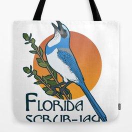 Florida scrub-jay Tote Bag