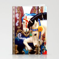 carousel Stationery Cards featuring Carousel by laika in cosmos