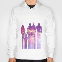 starlord Hoodies featuring what a bunch of A-Holes by Iamzombieteeth Clothing